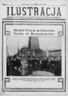 """Ilustracja. Dodatek niedzielny do """"Ilustrowanego Dziennika Łódzkiego"""" 1932, R. 2, Nr 26"""