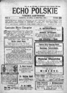 Echo Polskie 1916, R. 2, Nr 30