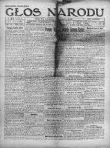 Głos Narodu 1921, Nr 172