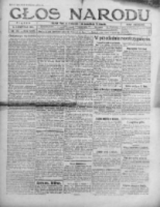 Głos Narodu 1921, Nr 176