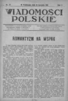 Wiadomości Polskie 2 1915-1916, Nr 72