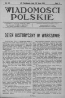Wiadomości Polskie 2 1915-1916, Nr 87