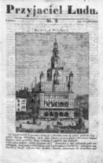 Przyjaciel Ludu czyli Tygodnik potrzebnych i pożytecznych wiadomości 1834/35, R.1, nr 2