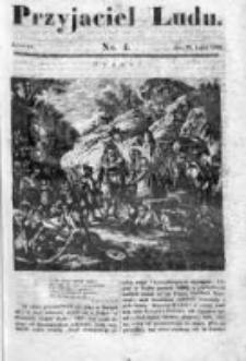 Przyjaciel Ludu czyli Tygodnik potrzebnych i pożytecznych wiadomości 1834/35, R.1, nr 4