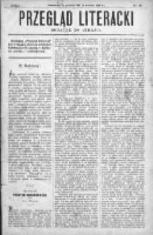 """Przegląd Literacki. Dodatek do """"Kraju"""" tygodnika polityczno-społecznego wydawanego w Petersburgu od roku 1882. 1887, nr 52"""