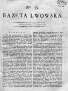 Gazeta Lwowska 1815 II, Nr 58