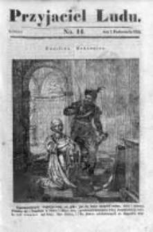 Przyjaciel Ludu czyli Tygodnik potrzebnych i pożytecznych wiadomości 1834/35, R.1, nr 14