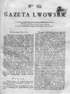 Gazeta Lwowska 1815 II, Nr 60