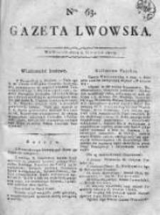 Gazeta Lwowska 1815 II, Nr 63