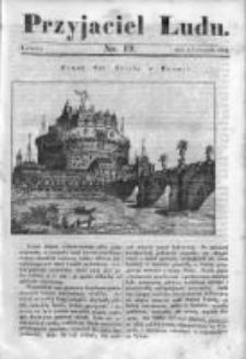 Przyjaciel Ludu czyli Tygodnik potrzebnych i pożytecznych wiadomości 1834/35, R.1, nr 19