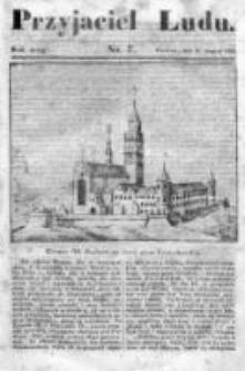 Przyjaciel Ludu czyli Tygodnik potrzebnych i pożytecznych wiadomości 1835/36, R. 2, nr 7