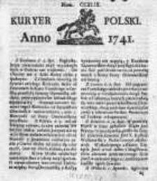 Kuryer Polski 1741, Nr 249