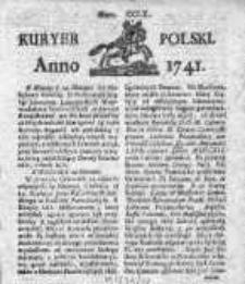 Kuryer Polski 1741, Nr 260