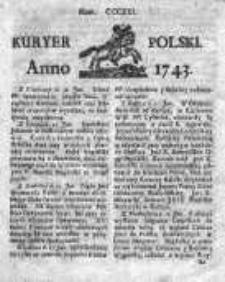 Kuryer Polski 1743, Nr 321