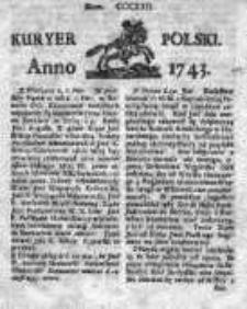 Kuryer Polski 1743, Nr 322