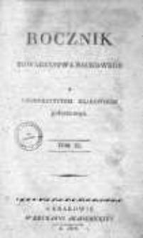 Rocznik Towarzystwa Naukowego z Uniwersytetem Krakowskim połączonego 1826, R. 11, Cz. 1