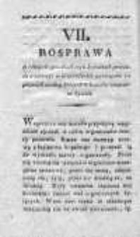 Rocznik Towarzystwa Naukowego z Uniwersytetem Krakowskim połączonego 1826, R. 11, Cz. 7