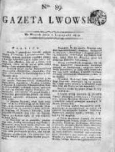 Gazeta Lwowska 1815 II, Nr 89