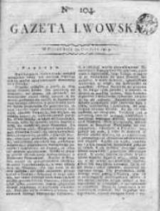 Gazeta Lwowska 1815 II, Nr 104