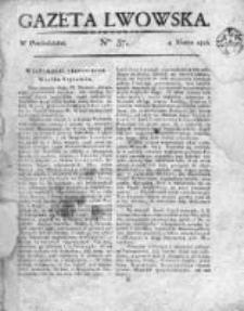 Gazeta Lwowska 1816, Nr 37