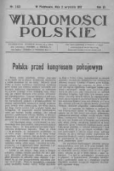 Wiadomości Polskie 3 1916-1917, Nr 143