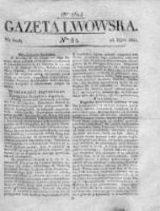 Gazeta Lwowska 1821 II, Nr 84