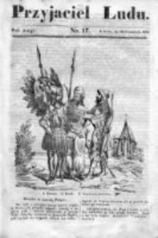 Przyjaciel Ludu czyli Tygodnik potrzebnych i pożytecznych wiadomości 1835/36, R. 2, nr 17