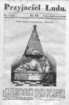 Przyjaciel Ludu czyli Tygodnik potrzebnych i pożytecznych wiadomości 1835/36, R. 2, nr 18
