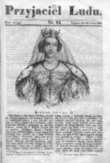 Przyjaciel Ludu czyli Tygodnik potrzebnych i pożytecznych wiadomości 1835/36, R. 2, nr34