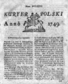 Kuryer Polski 1749, Nr 676