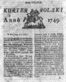 Kuryer Polski 1749, Nr 681