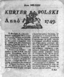 Kuryer Polski 1749, Nr 685