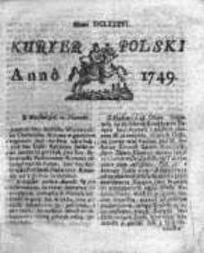 Kuryer Polski 1749, Nr 686