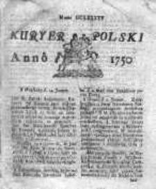 Kuryer Polski 1750, Nr 695