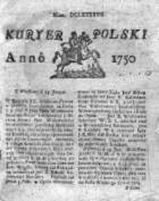 Kuryer Polski 1750, Nr 697