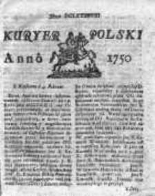 Kuryer Polski 1750, Nr 698