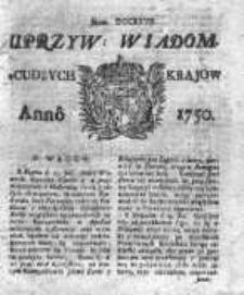 Kuryer Polski 1750, Nr 727
