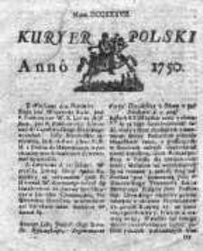 Kuryer Polski 1750, Nr 737