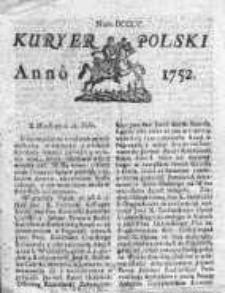 Kuryer Polski 1752, Nr 805