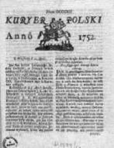 Kuryer Polski 1752, Nr 812