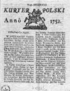 Kuryer Polski 1752, Nr 832