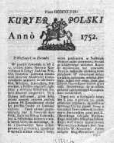 Kuryer Polski 1752, Nr 848