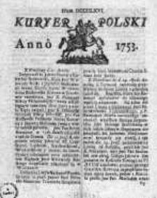 Kuryer Polski 1753, Nr 866