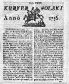 Kuryer Polski 1756, Nr 130