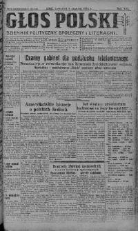 Głos Polski : dziennik polityczny, społeczny i literacki 9 grudzień 1926 nr 338