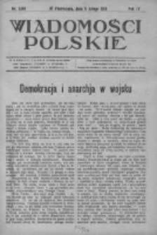 Wiadomości Polskie 4 1918-1919, Nr 166