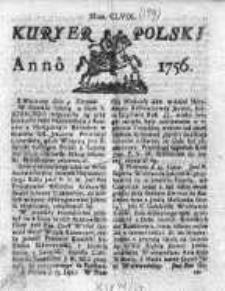 Kuryer Polski 1756, Nr 159