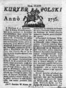 Kuryer Polski 1756, Nr 164