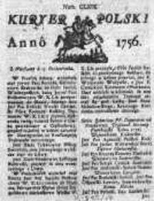 Kuryer Polski 1756, Nr 169