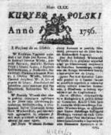 Kuryer Polski 1756, Nr 170